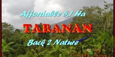 JUAL TANAH di TABANAN BALI 51,100 m2 View gunung dan laut singaraja