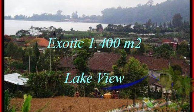 JUAL TANAH di TABANAN 1,400 m2 View Danau Beratan dan Gunung