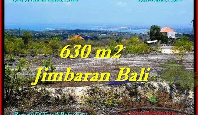 JUAL MURAH TANAH di JIMBARAN 630 m2 View Bandara, laut, Tol, Link Villa